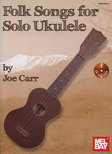 Folk Songs For Solo Ukulele: Noten, Sammelband für Ukulele