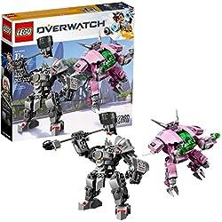 LEGO Overwatch D.va Reinhardt D.Va & Reinhardt, 75973