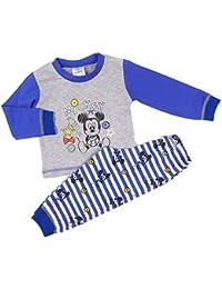 Mickey Mouse - Ensemble de pyjama - Bébé (garçon) 0 à 24 mois multicolore bleu/gris