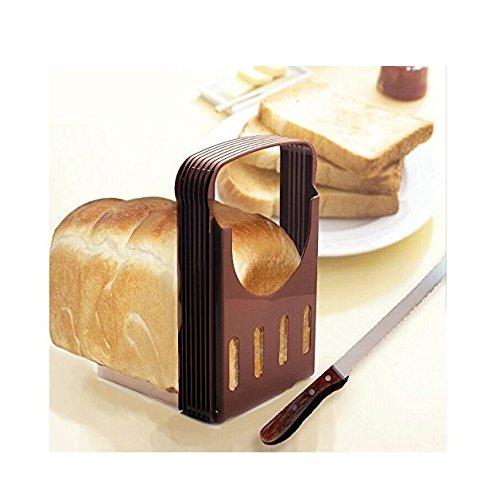 Yeah67886pieghevole portatile slicing guide toast compact pane affettatrice cottura di