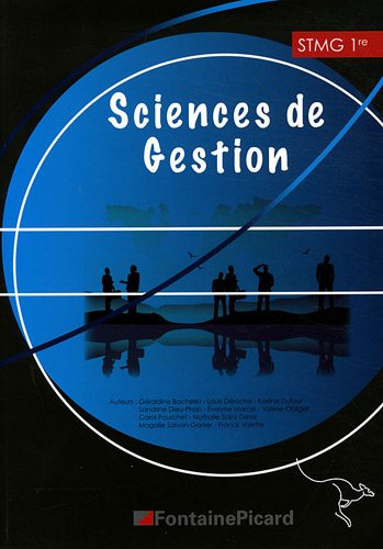 Sciences de gestion 1e Stmg