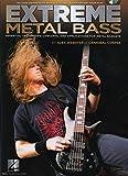 Webster Alex Extreme Metal Bass Essential Techniques Bgtr Tab BK/CD