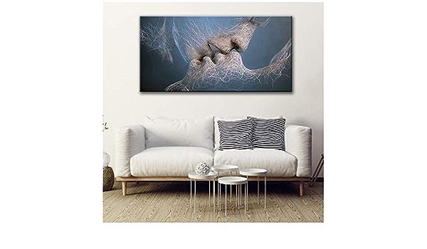 Yangm Druck auf Leinwand Zusammenfassung Gustav Klimt Goldene Tr/änen und Kuss /Öl///Poster und Drucke Wandkunst Bilder f/ür Wohnzimmer 40 x 50 cm 15,7x 19,6 Kein Rahmen