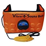 Inditradition 3 In 1 Sauna Slim & Trim Belt (Heating / Massaging / Vibrations) - Unisex (Orange Color)