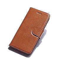 Multifonctionnel Premium Retro Folio Flip Card Slots Porte-monnaie Porte-monnaie avec étui magnétique extensible extensible Hander Phone Case pour Iphone7 / 7plus.