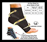 Lumino Cielo Heel Compression Socks for ...