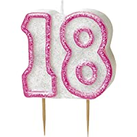 BLING Party Decorations and Tableware for 18th Birthday in PINK Glitz