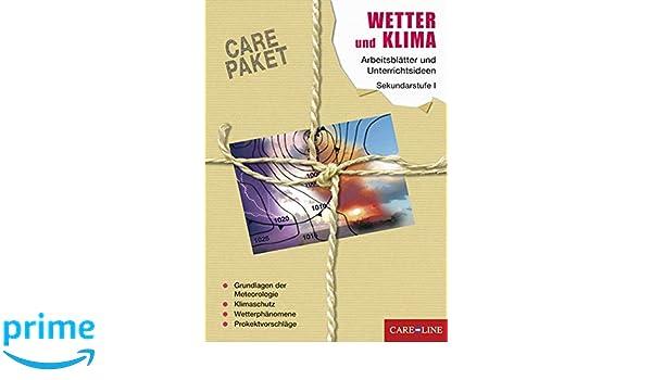 Care Paket Wetter Und Klima Arbeitsblätter Und
