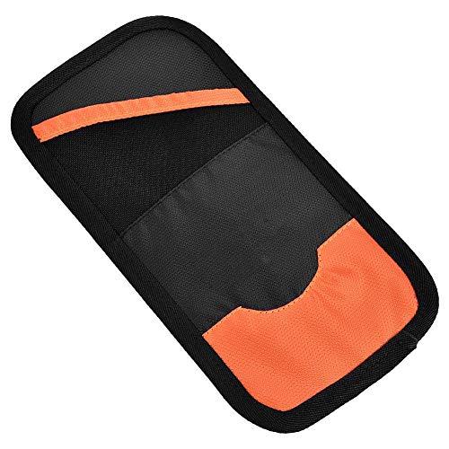 Bnineteenteam Multifunktions-Pass-Tasche, Reise-Nackentasche-Handy-Geldkarten-Pass-Taschen-Halter-Geldbörse(Orange) (Pass Und Handy-halter)