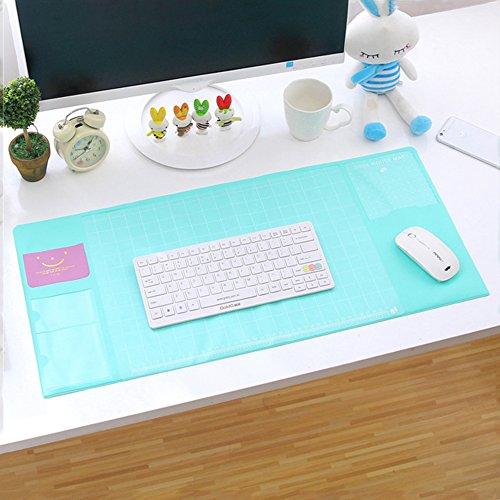 Befitery Schreibtischunterlage Multifunktions Schreibtisch Matte Pad Tischmatte Kreativ Computer Laptop Mausunterlage Schreibunterlage...