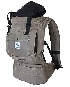mochilas portabebé: Mochila portabebes para llevar a tu bebe Manos libres - Portabebes de diseño Erg...