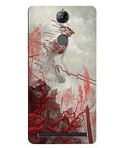 Citydreamz War\Fights\blood Hard Polycarbonate Designer Back Case Cover For Lenovo K5 Note