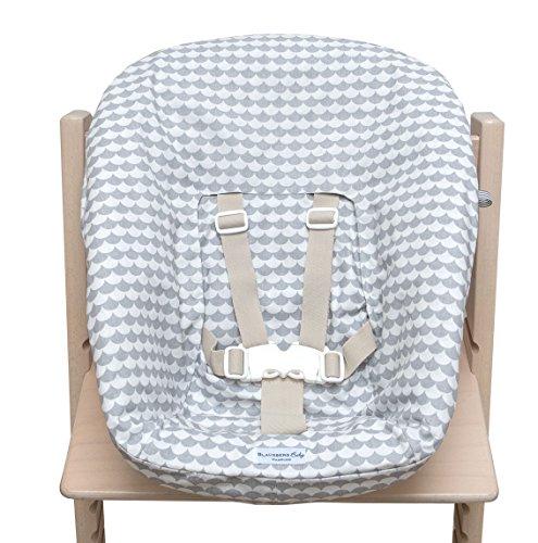 blaus Berg Baby–Funda para stokke Newborn Set–Gris escamas