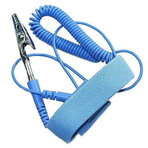 Bracelet Antistatique - winrembrandt anti-statique dragonne élastique réglable avec prise