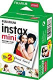 Fujifilm - Twin Films pour Instax Mini - 86 x 54 mm - Pack 2 x 10 Films(Lot de 2)