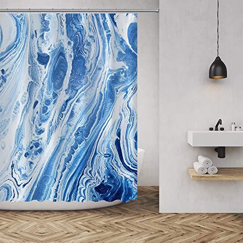 MuaToo Duschvorhang Bad Abstraktes Design Stoffdeko, Badezimmer-Dekoration, Set mit Haken Casual 72