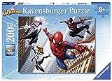 Ravensburger–12694Notebookkühler–Puzzle Spiderman 200Teile