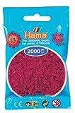 Hama Perlen 501-29 - Mini-Perlen 2000 Stück violettrot