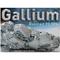 Galio 5g Gallium 99,99% Ga 4N