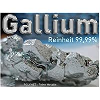 100g gallium 99,99% GA 4N