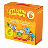 First Little Readers: 25 Irresistible Books That Are Just the Right Level for Beginning Readers, Level D: Includes Parents Guide Filled With Easy Reading Tips