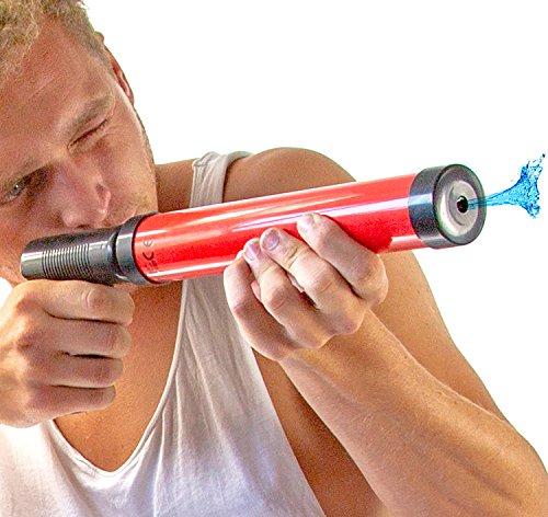 Pistole Pool-Kanone Mega Wasser-Gewehr Wasser-Spielzeug Wasser-Spritz-Pistole Wasser-Spritze Kunststoff 40cm ()