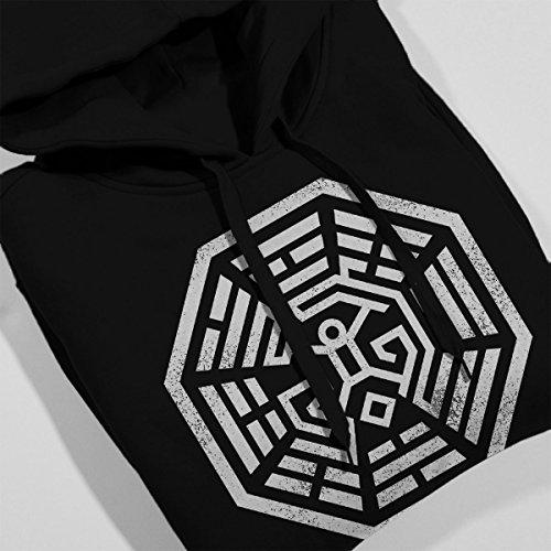 Westworld Lost Maze Women's Hooded Sweatshirt Black