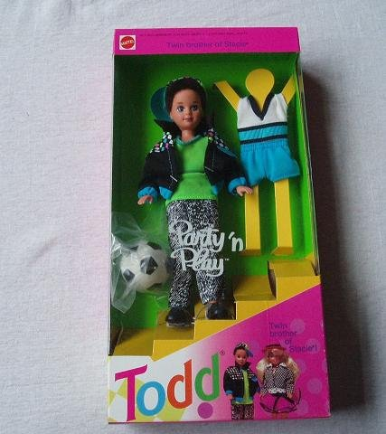 Barbie - Party 'n Play TODD Doll Twin Brother of Stacie (1992) (Twin Barbie-puppen)
