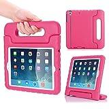 MoKo Case per Apple iPad Mini 3/2 / 1 - Custodia Protettiva Antiurto con Supporto per Bambini per Apple iPad Mini 3 2014, Mini 2 2013 e Mini 2012, MAGENTA