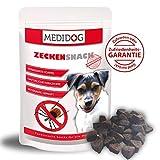 Medidog Original Zecken Snack 150g, Extra Kaltgepresster Zeckenschutz für Hunde, von Tierärzten empfohlen, zeckenfrei in 14 Tagen mit Anti Zecken Snack, Schwarzkümmelöl, Kokosöl, Zistrosenkraut