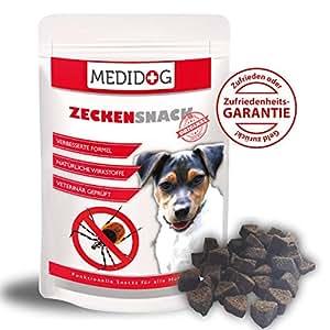 Medidog   Original Zecken Snack 150g   Der kaltgepresste Zeckenschutz für Hunde   Von Tierärzten empfohlen   Der natürliche Anti Zecken Snack