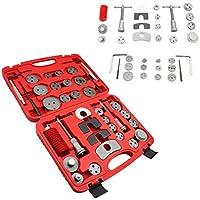 Hengda® 35tlg.Rücksteller Zurücksetzen Bremsen Rücksetzer drehen Set Bremskolben Rückstellsatz Spindeln Werkzeug