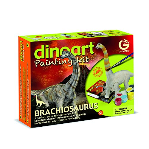 Geoworld cl835K–Kit dinoart, Brachiosaurus