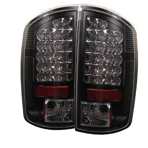 Preisvergleich Produktbild Spyder Dodge Ram 1500 02-06/ Ram 2500 02-05 /Ram 3500 02-05 LED Tail Lights - Black by Spyder Auto