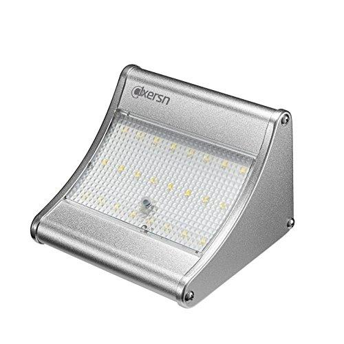 alxersn 24Licht Outdoor Sensor Beleuchtung wasserdicht Solar Katzenklingel LED-Licht