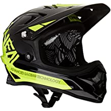 O'Neal Backflip Rl2 Bungarra Casco de Bicicleta, Black/Yellow (Black / Hi-Vis), XL (61 cm)