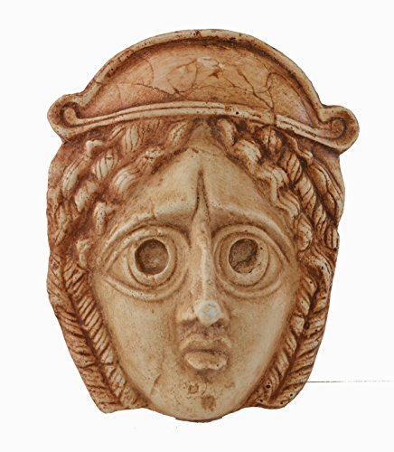 Antike griechische Theater Drama Tragödie Mini Maske