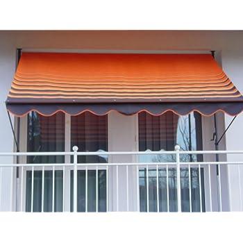 Balkon Klemm Markise 250 x130cm Balkonmarkise Sonnenschutz