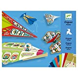 Djeco DJ08760 Planes Origami Flieger Flugzeuge Modellflugzeug aus Papier, Multicolour