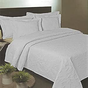 linens limited tagesdecke florentina bettdecke matelasse wei 230 x 260 cm. Black Bedroom Furniture Sets. Home Design Ideas
