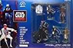1995 APPLAUSE STAR WARS CLASSIC COLLECTORS SERIES FIGURINES WITH BESPIN DISPLAY PLATFORM. THIS SET INCLUDES LUKE SKYWALKER DARTH VADER HAN SOLO C-3PO R2-D2 CHEWBACCA & TWO-STAGE PLATFORM. THIS SET FEATURES REMOVABLE STEP PLATFORM FIGURES CAN STAN...