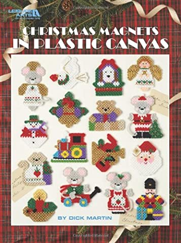 Christmas Magnets in Plastic Canvas