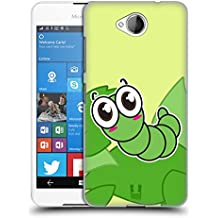 Head Case Designs Caterpillar Eye Bugs Hard Back Case for Microsoft Lumia 650 / Dual SIM