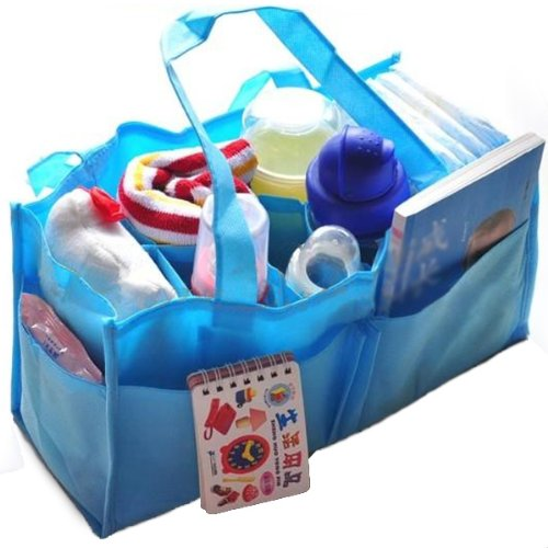 travel-outdoor-portable-baby-diaper-nappy-storage-insert-organizer-bag-toteblue