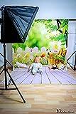 Kate 5x7ft fotoleinwand hintergrund ostern fotohintergrund frühling garten Bokeh Fotografie Hintergründe Kinder foto kulisse