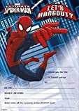 MARVEL ULTIMATE SPIDER-MAN PARTY INVITATIONS - Invite Party Card By Ukg by shop inc