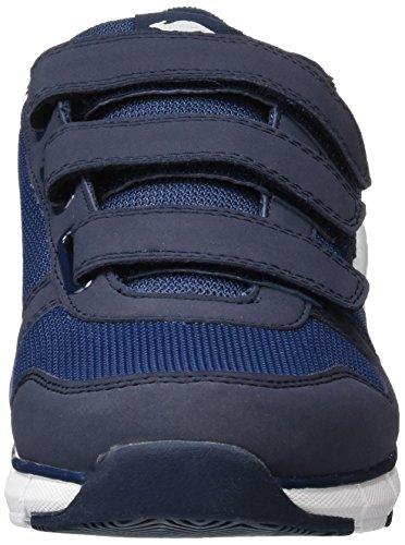 KangaROOS Unisex-Erwachsene K-Bluerun 701 B Low-Top Blau (dk navy/mid grey 423)