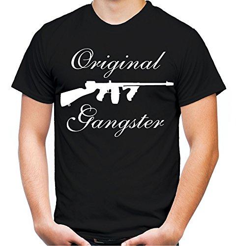 �nner und Herren T-Shirt | Mafia Pate The Godfather Geschenk (XXXXL, Schwarz) (Männer Gangster Kostüme)