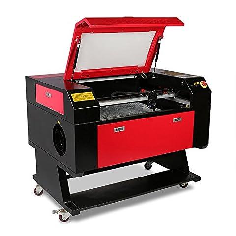 ZauberLu Laser-Graviermaschine 750 60W CO2-Laser-Graveur 500 x 700mm Laser-Fräsmaschine USB-Schnittstelle CAD und CorelDraw-Ausgang Engraver Machine Artwork (60W 500 x 700mm)