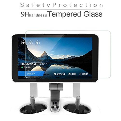 Flycoo Tempered Glass Gehärtetes Glas für DJI Phantom 4Pro + Fernbedienung Remote Controller Bildschirm Beschützer Schützend Folie